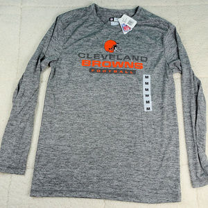 NWT NFL Cleveland Browns TX3 Cool Athletic Shirt M